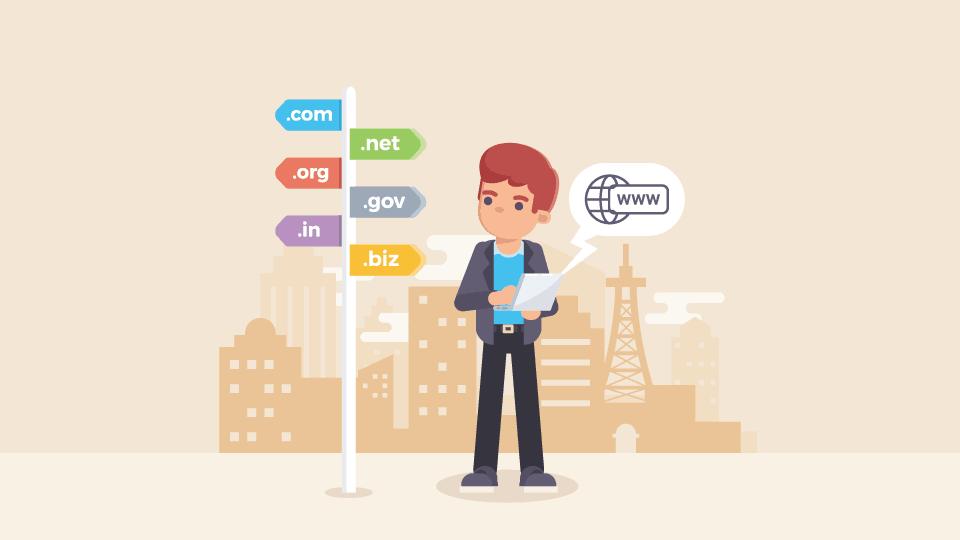 web sitesi domain tescil